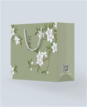 典雅中国风旗袍女装购物袋