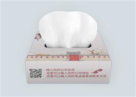 文艺怀旧风通用纸巾盒